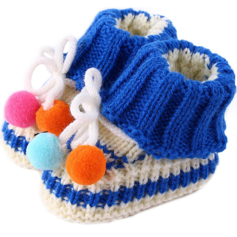 9018e5a3d6a Blue Pink Solid Baby Boys Girls Fashion Crochet Knitted Socks 2018 Warm  Autumn Winter Children s Baby Socks-in Socks from Mother   Kids on  Aliexpress.com ...