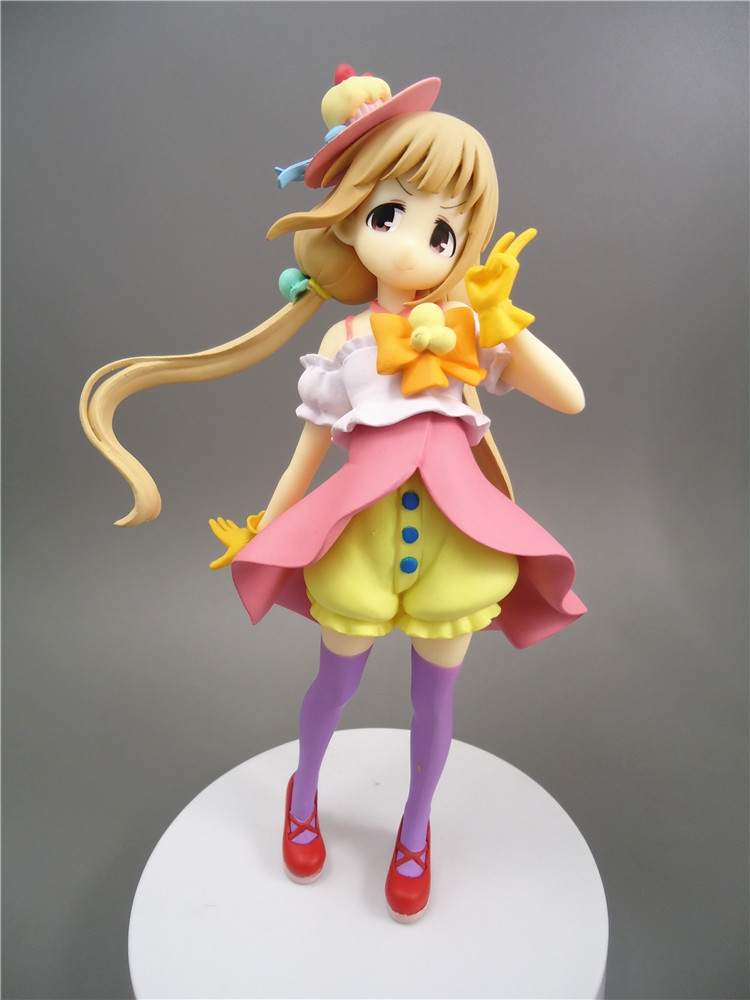 1/8 The Idol Master futaba anzu Candy Island Model Sexy Anime Collectible PVC Action Figure collectible model toys дрипка ud anzu стальная