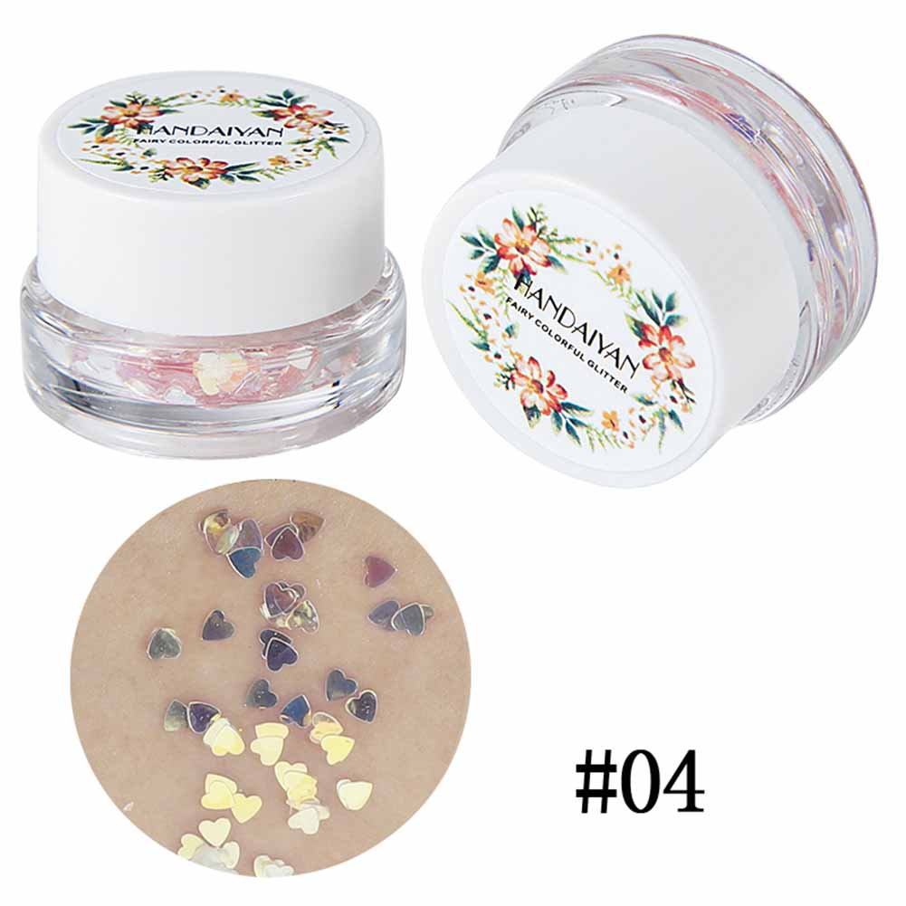Beauty & Health High Quality 1 Bottle Mermaid Sequins Gel Glitter Eyeshadow Makeup Cosmetic Mixed Paillette For Face Body Hair Comfortable Feel