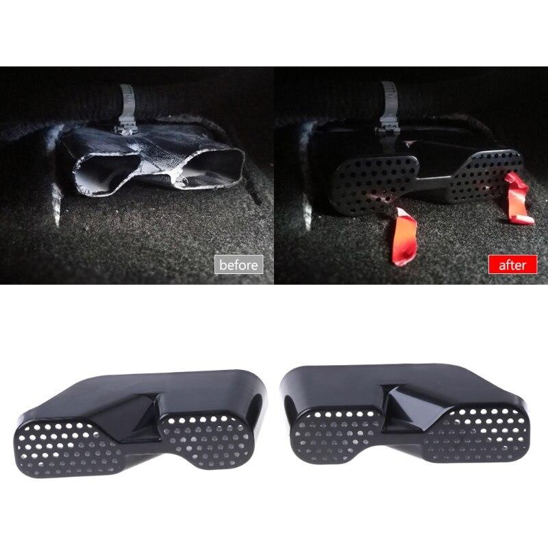 2 шт. заднее сиденье автомобиля кондиционер вентиляционное отверстие кожух воздуховода для Mazda CX5 2013-2018