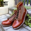 Couro De Alta Botas Pathfinder Masculino Hombre Sapatos de Marca Original para Quatro Estações Casuais Martin Botas Homem Designer de Sapatos
