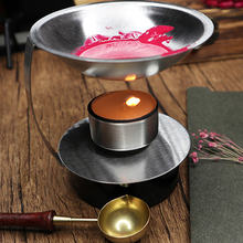 Adjustable Fire Height Wax Warmer Melts Heater Wax Sticks Beads Melting Glue Furnace Tool Stove Pot For Wax Seal Stamp(China)