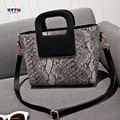 Hot Sale Fashion Women Handbag Lady PU leather Crossbody Shoulder Bag Snake Pattern Luxury Brand Women Messenger Bags Tote