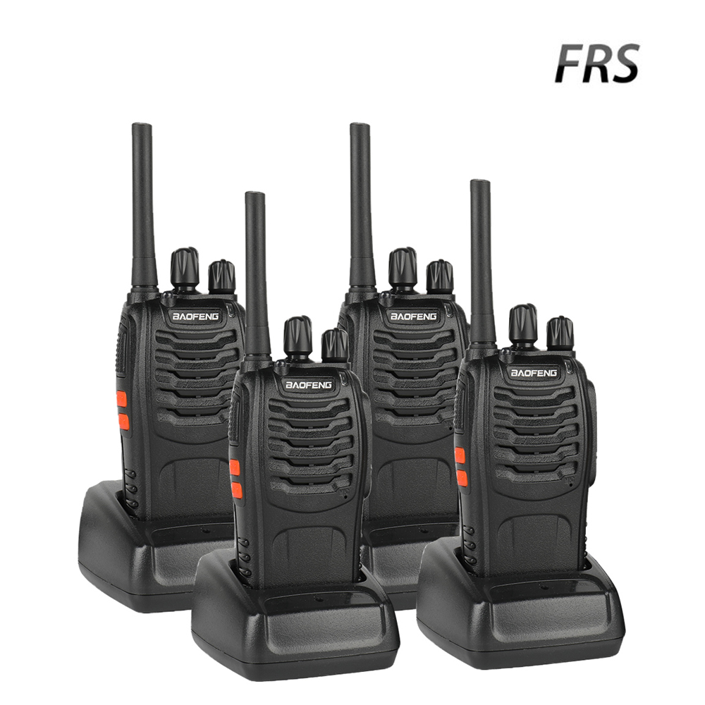 4 Pcs Baofeng BF-88A FRS Walkie Talkie 0.5W  UHF 462-467 MHz 16 CH Handheld Ham Two way Radio Upgrade Version of BF-888s4 Pcs Baofeng BF-88A FRS Walkie Talkie 0.5W  UHF 462-467 MHz 16 CH Handheld Ham Two way Radio Upgrade Version of BF-888s