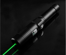 Buy online 532nm High Power Military 500w 500000mW Green Laser Pointer Flashlight Burning Match Candle Lit Cigarette Wicked LAZER Hunting.