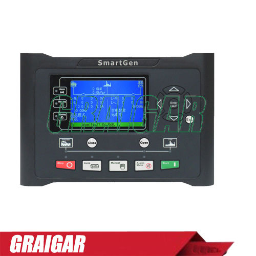 New Smartgen HGM9510 Genset Auto / Manual Parallel Generator Controller crystal lux бра crystal lux luccila ap2 white