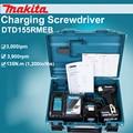 Japan Makita DTD155RMEB Opladen schroevendraaier Elektrische impact schroevendraaier Borstelloze lithiumbatterij 135N. m 3900 rpm 3, 000ipm