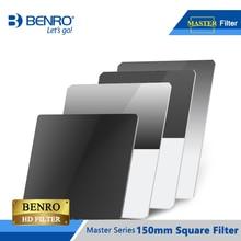 BENRO Master filtros cuadrados de vidrio HD, filtro de alta resolución para recubrimiento WMC ULCA, 150mm, envío gratuito con DHL