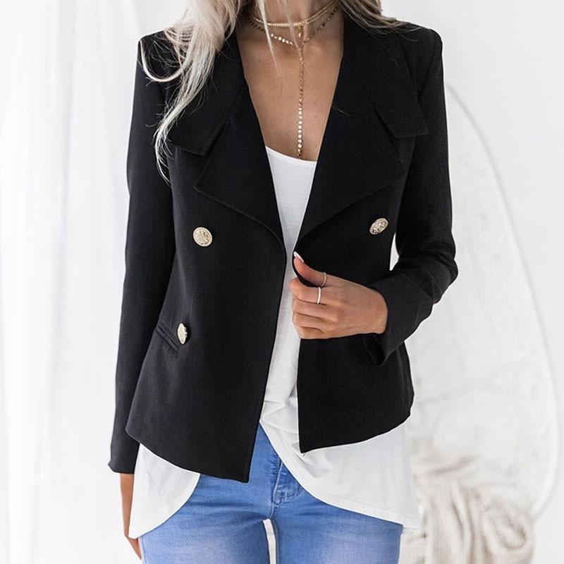 Compra clásico blazer azul marino online al por mayor de