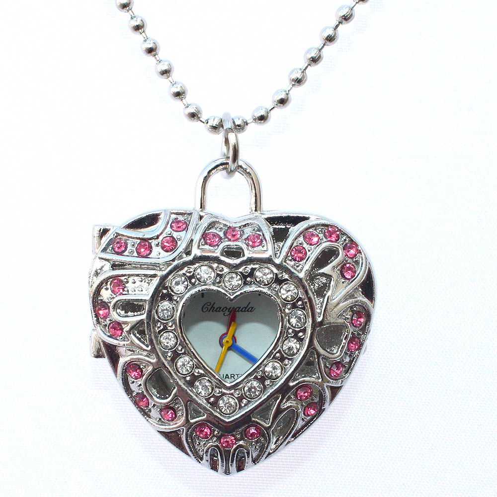 Fashion Pendant Pocket Necklace Watch