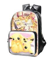 Janpanese Cartoon Anime G Team PU Leather Backpack School Student Travel Bag knapsack Otaku Gintama