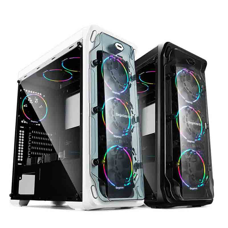 Segotep LUX Gaming Case ATX Micro-ATX, ITX