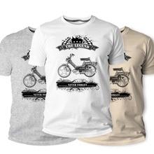 Camiseta, clásicos fanáticos de la motocicleta austríaco 1979 Clásico coche clásico de los hombres 2019 moda impresa redondo camisetas baratas