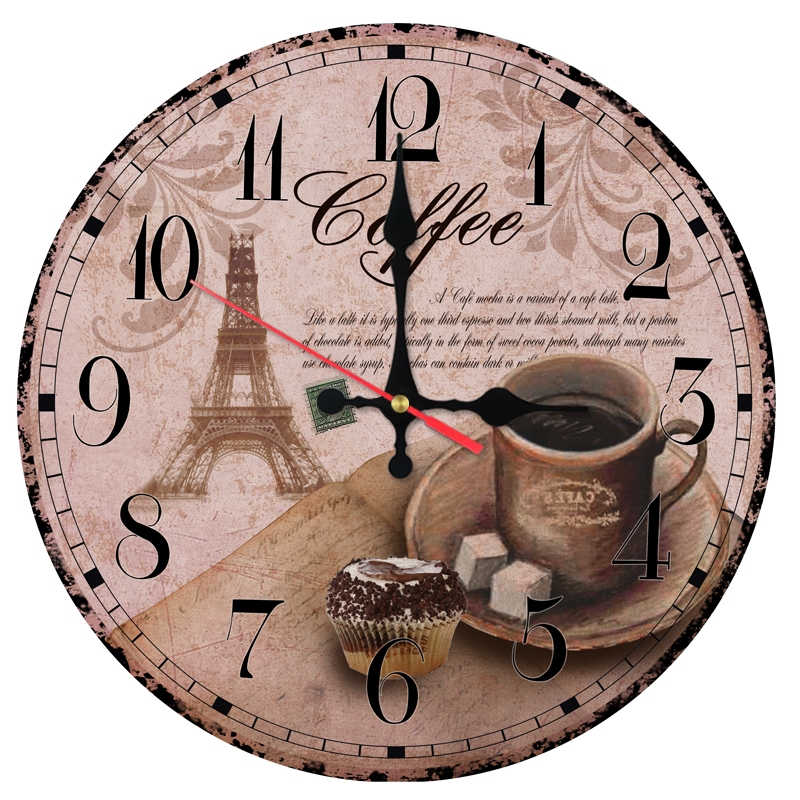 Direct Selling Wooden Wall Clock Clocks Home Decor Still