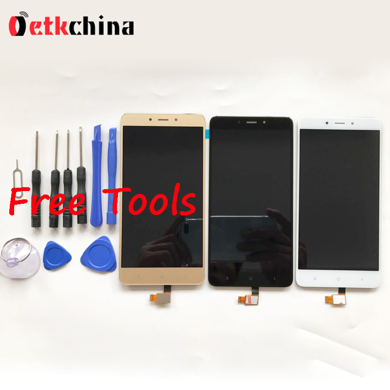 For Xiaomi Redmi Note 4 LCD Display + Touch Panel LCD Screen Digitizer Assembly Replacement For Redmi Note 4 Pro Prime + Tools  for xiaomi redmi 4 pro lcd display touch screen digitizer lcd screen panel replacement for redmi 4 prime 5 0 inch mobile phone