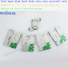 for iPhone  hard disk test fixture 5in1 disk test hard disk test aircraft support 5 g / 5 c / 5 s / 6 g/p series hard disk test