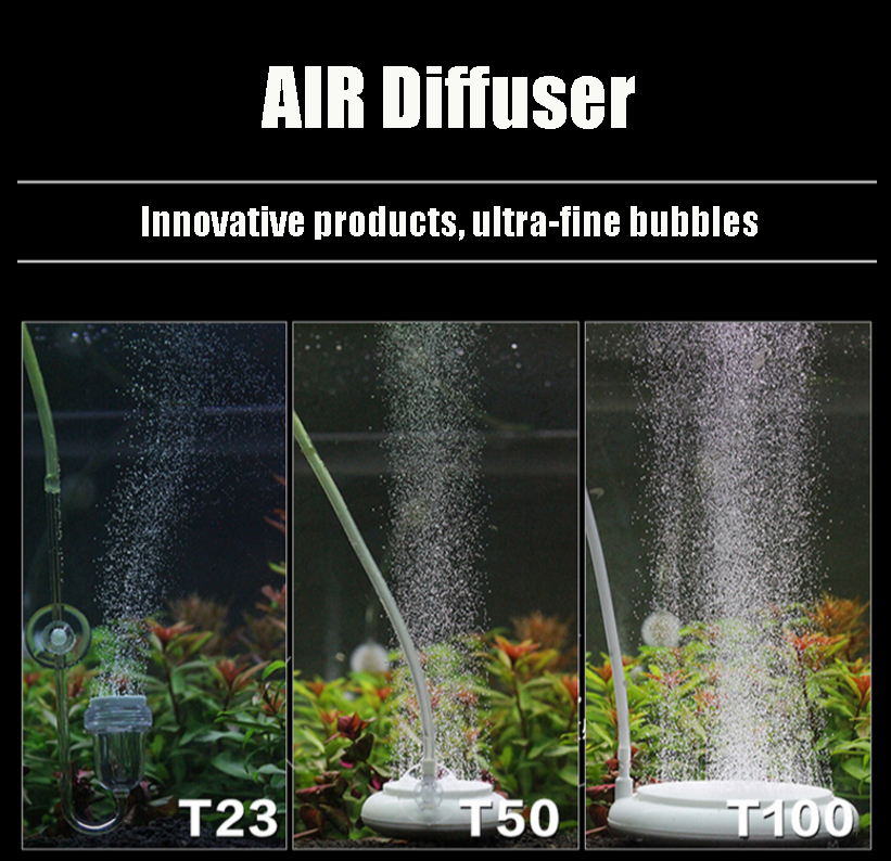 Hot Selling air diffsuer ceramic air diffuser ornamental fish in small type living fish tank High