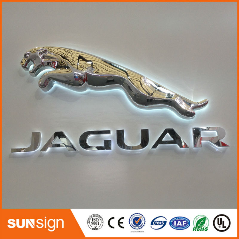 Custom Famous Car Led Logo With Names In Electronic Signs From