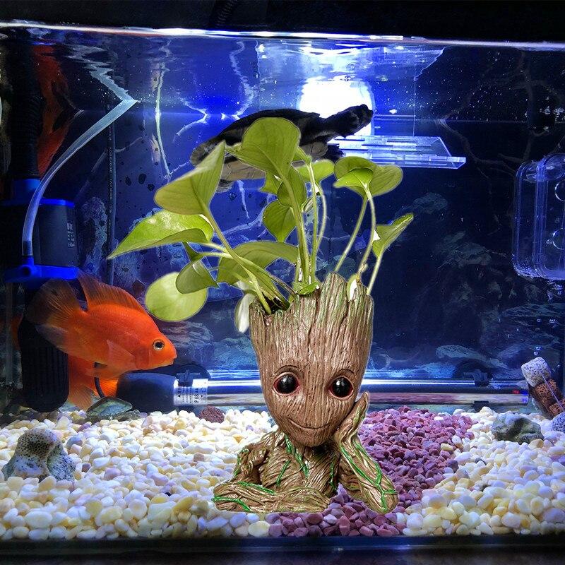 Us 106 40 Offgroot Drzewo Człowiek Dekoracja Akwarium Strażnicy Galaktyki Hero Figurka Wystrój Do Akwarium Fish Tank Doniczka Długopis W Doniczki