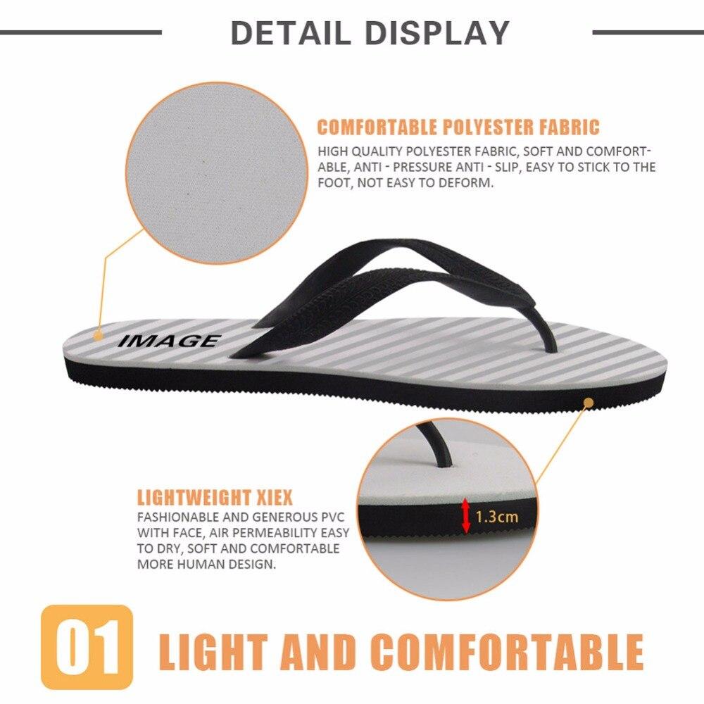 4d180db57bb5a INSTANTARTS Brand Design Women Flip Flops Youth Girl Summer Beach Home Flip  Flops 3D Geometric Print Girl Casual Summer Slippers-in Flip Flops from  Shoes on ...