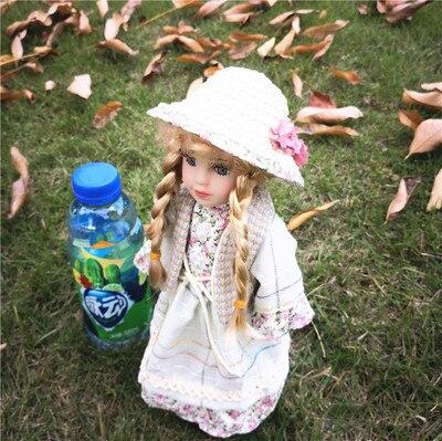 Hauteur 30 cm russie belle Style européen Style Victoria russie en céramique classique poupée anniversaire noeud fille cadeaux
