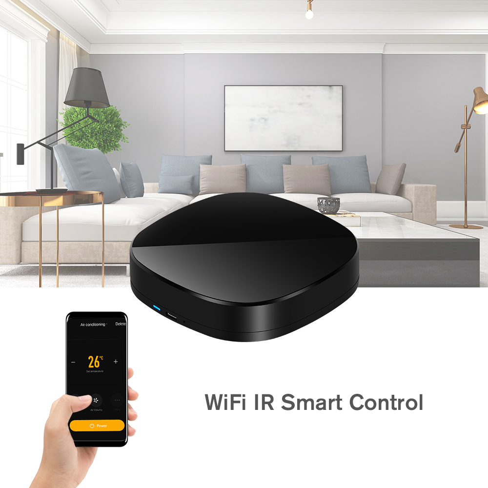 Smart Home IR WiFi Infrared Switch Smart TV Remote Control Smart Home Appliances Remote Control Switch Automation