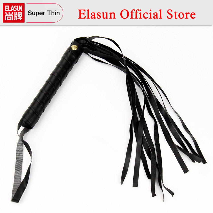 Buy Leather Fetish Whip Flogger Sex Toys Couples Sexy Policy Knout Adult Games 1 Pcs