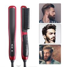 Beard Straightener Multifunctional Hair Beard Straightening Comb Quick Styler for Man escova de cabel Men Accessories