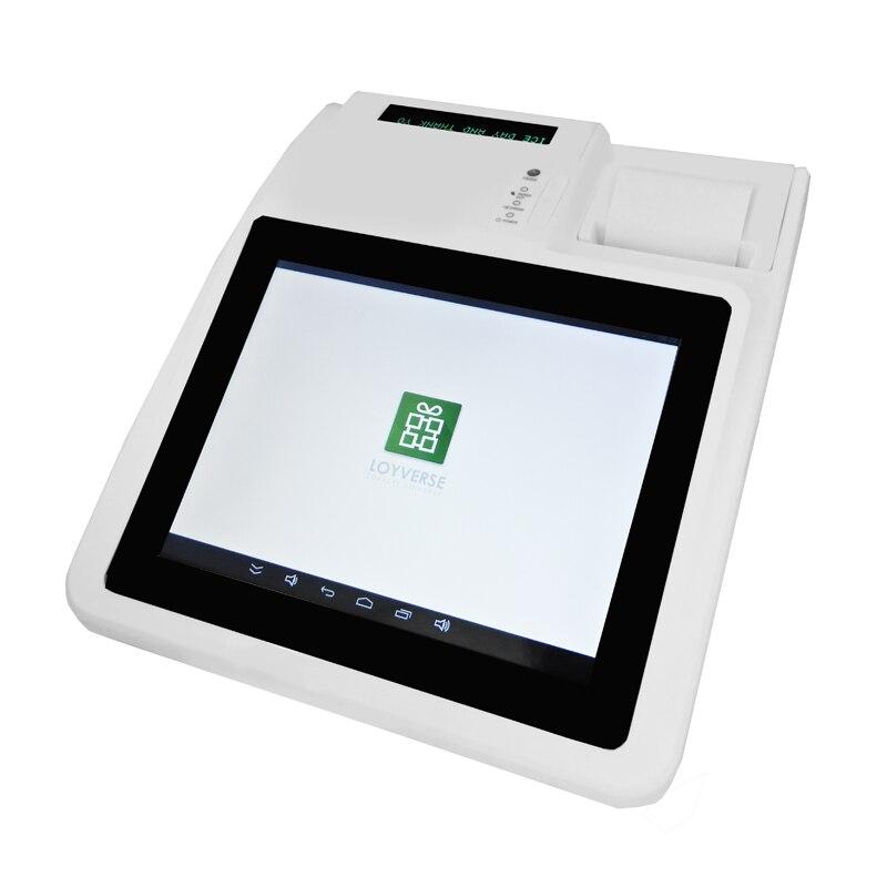 IZP004 программного обеспечения Loyverse Pos Сенсорный экран кассовый аппарат все в одном поз для ресторана/Напитки/молоко/чай магазин