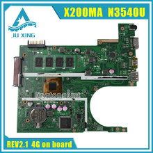 Pour ASUS K200MA F200MA X200MA carte mère X200MA REV2.1 Carte Mère 4G Mémoire à Bord N3540CPU 100{c21a25856bfcb9027934937cf6e27734c848961347a77128bb7b6571e4c99dec} test