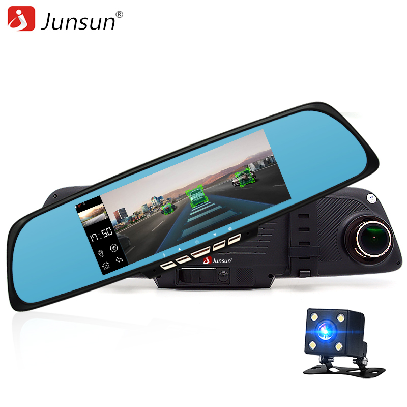 Junsun 6 86 font b Car b font Dash Cam ADAS Rear view mirror with font