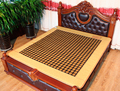 2016 New health care products heated bed mattress electric yellow germanium cushion 3 Size for You Choice