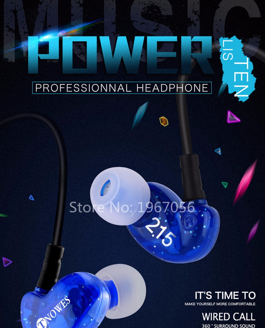 TN-01 Headphone earphone (5)