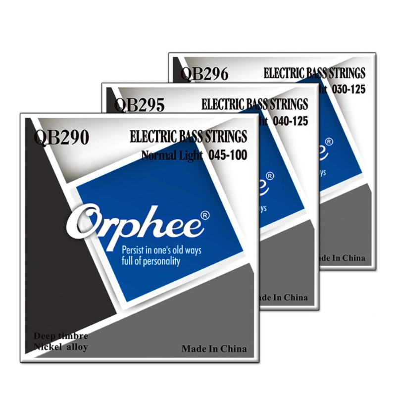 Orphee QB Series Electric Bass Guitar Strings Repairing Tool Metal Stringed For 4 5 6 Music Bass Guitar String Parts Accessories