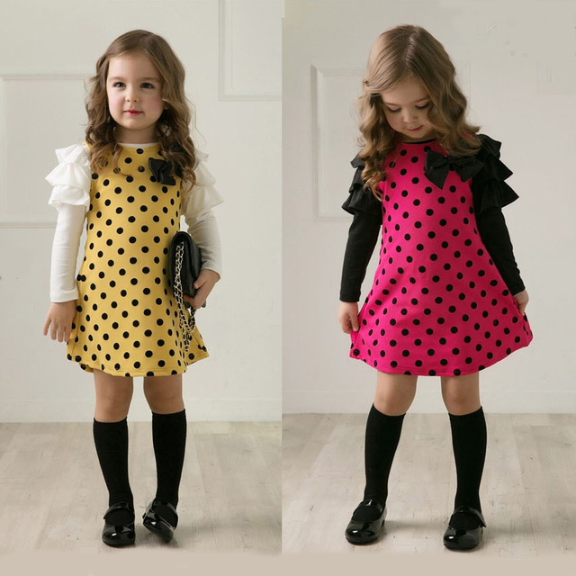 Modas de vestidos casuales para ninas