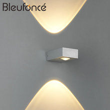 Indoor Aluminum LED Wall Lamp Modern Home Decoration Lighting Wall Sconce Bedroom Living Room Light AC85-265V Wall Lamps BL150