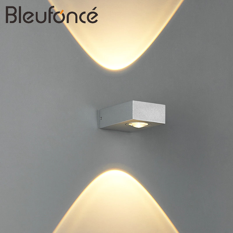 Indoor Aluminum LED Wall Lamp Modern Home Decoration Lighting Wall Sconce Bedroom Living Room Light AC85-265V Wall Lamps BL150 цена