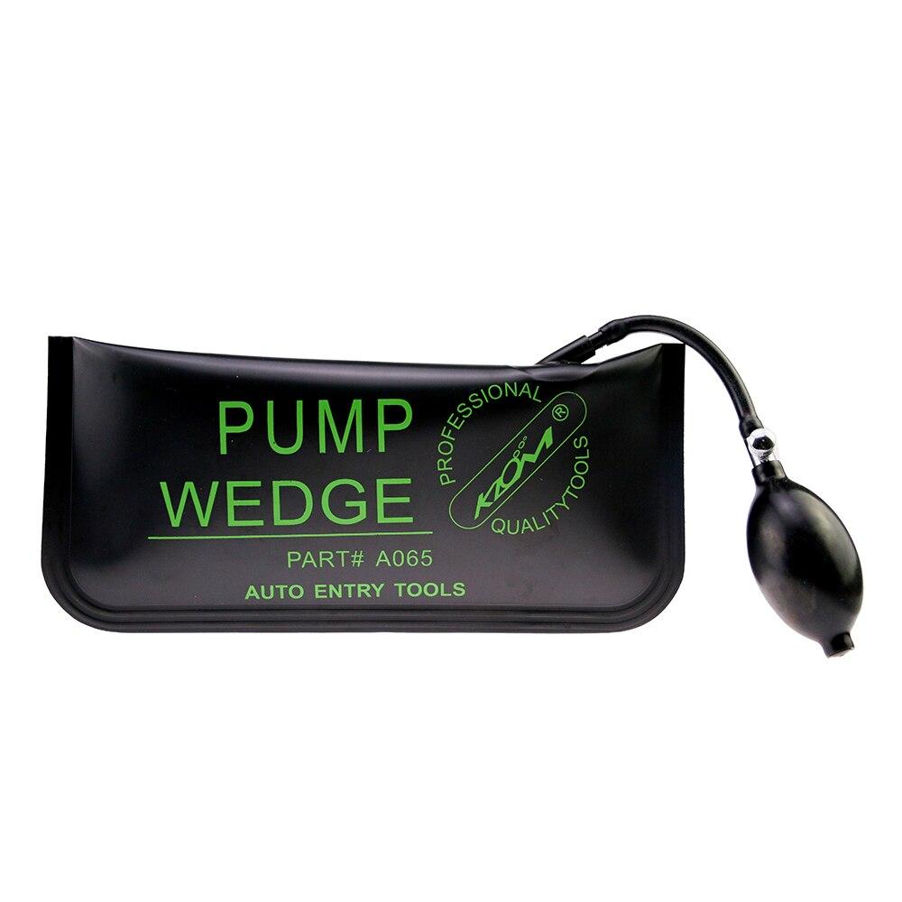Lock Pick Tools >> Free Shipping KLOM Big Size Pump Wedge Locksmith Tools Auto Air Wedge Lock Pick Set Open Car ...