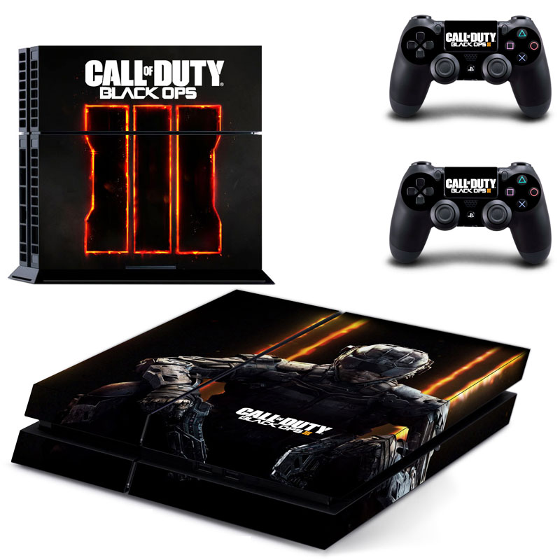 OSTSTICKER Pro Gamer For Black 3 Skins For Sony Play station 4 Controller Decal Sticker For PS4 Console Game Accessories