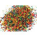 1000 Partículas/lot perlas de agua Perla en forma de Cristal Del Suelo de Barro de Agua Perlas Grow bolas Mágicas de La Jalea de la boda Decoración Del Hogar hidrogel