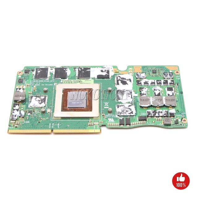 US $149 0  NOKOTION 60NB0180 VG1040 for asus G750J G750JW G750JH MXM REV  2 1 Laptop video GPU graphics GTX780M-in Laptop Motherboard from Computer &