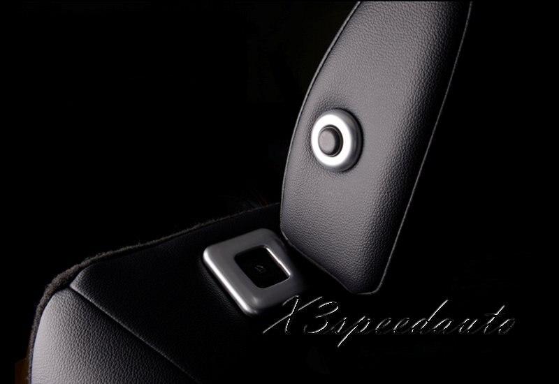 D BMW e63//e64 Chrome Tailles pour siège-Acier inoxydable poli
