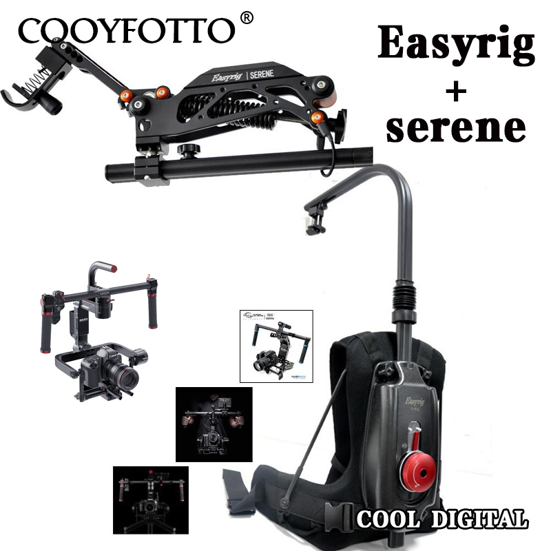 цены DHL Like EASYRIG video Serene camera easy rig for dslr DJI Ronin M 3 AXIS gimbal stabilizer with flowcine serene