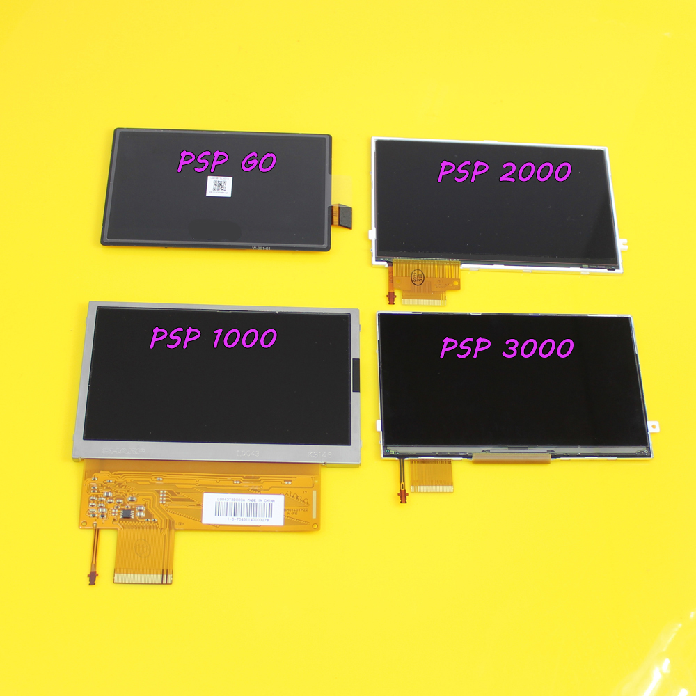 Psp 1000 Psp 2000 : Jing cheng da lcd screen display for sony psp