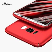 "Mikoor Fashion Plastic PC Hard 5.0""For Samsung Galaxy S7 S6 S8 Plus Case For Samsung S5 S4 S3 S7 S6 Edge Cell Phone Case Cover"