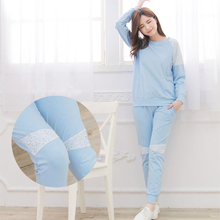 Maternity  Nursing Pajamas set Soft Cotton Comfortable Breastfeeding Sleepwear Maternity Pajama Nightgown