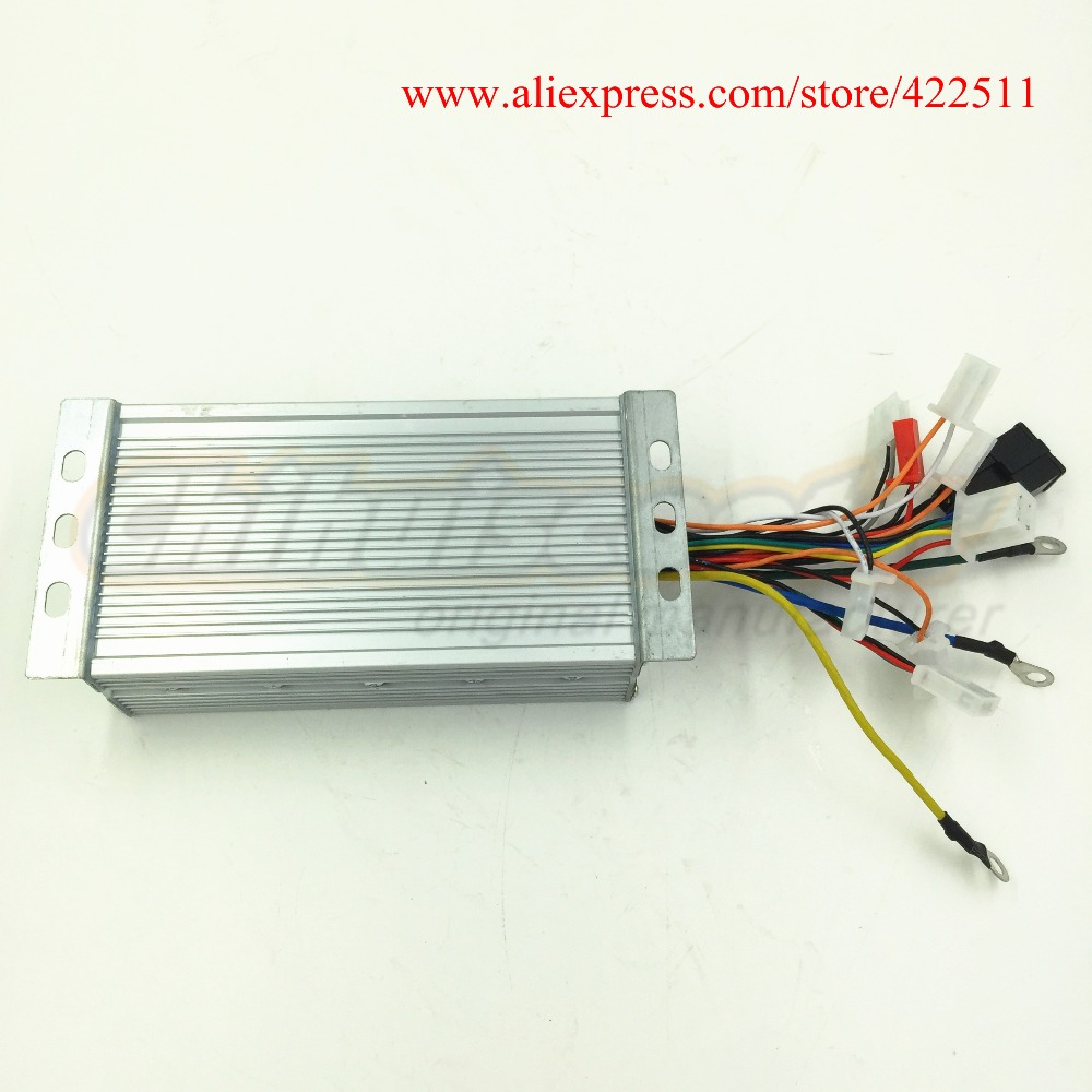 Electric Scooter Controller 1800w 48v Brushless Dc Motor Diagram 37a Bldc With Double Speed Connection In Parts