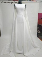 Белый длинный с открытыми плечами Саудовская Аравия Вечерние платья Robe De Soiree Абаи Дубай Кафтан дамы вечерние платья 2018 уникальный Дизайн