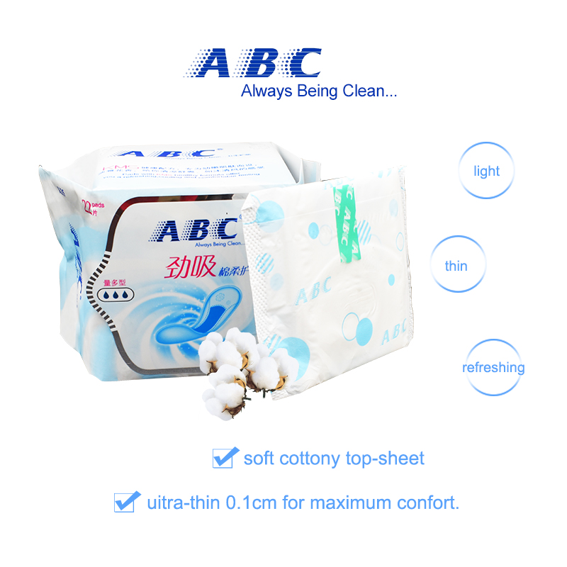 ABC Sanitary Napkin Panty liner Women Health Tampon feminine hygiene product Sanitary Menstrual pads ABC Hygienic pads on Sale