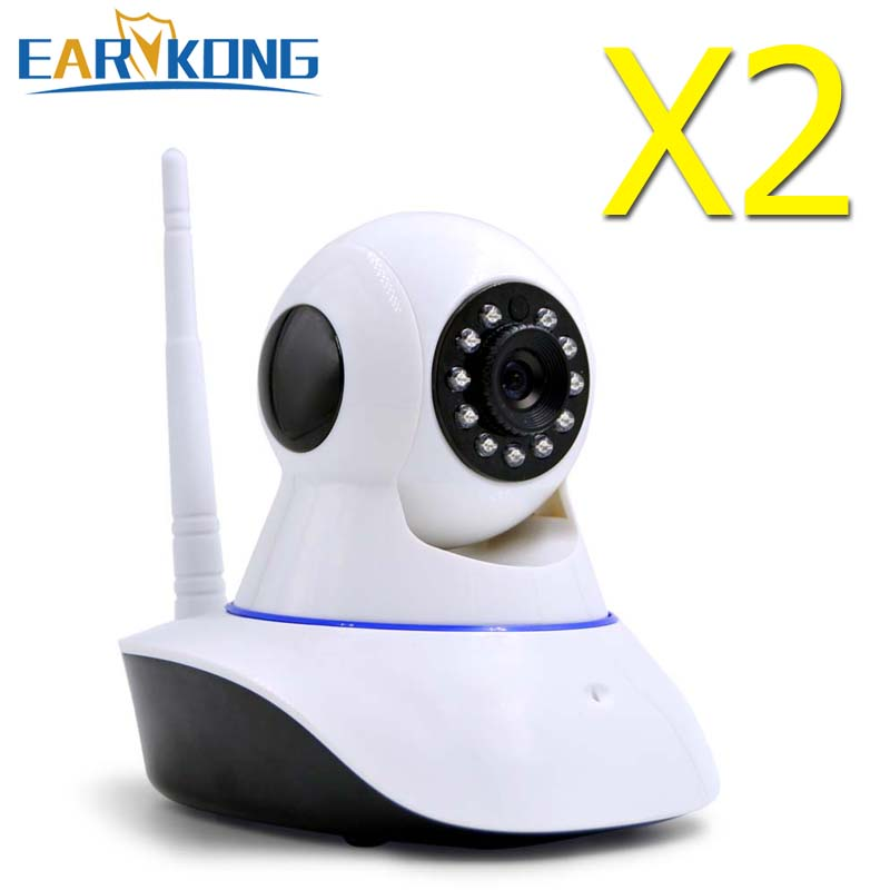 Earykong 720P HD Wifi Wireless Home Security IP Camera Security Network CCTV Surveillance Camera IR Night Vision Baby Monitor 720p hd home security ip camera wireless network cctv surveillance camera wifi ir cut night vision baby monitor security camera